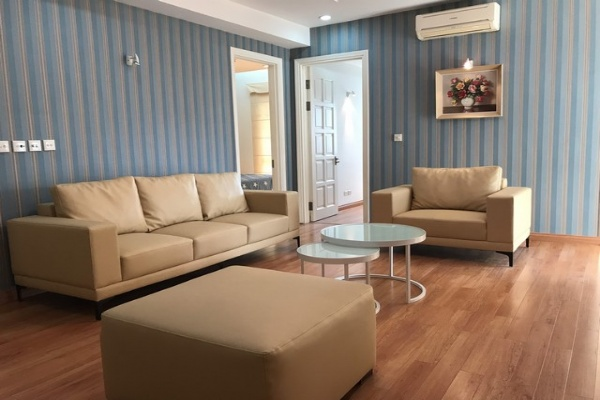 Well equipped 3 bedroom apartment for rent in E4  tower Ciputra