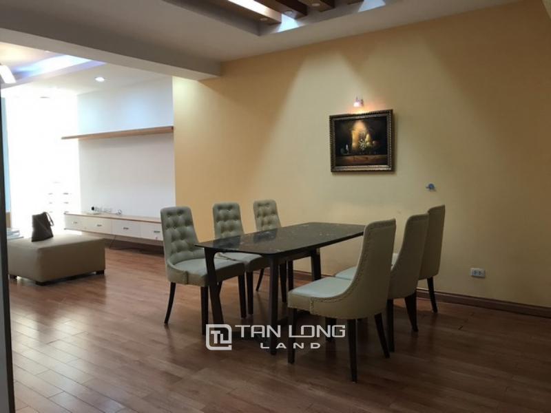 Well equipped 3 bedroom apartment for rent in E4  tower Ciputra 1