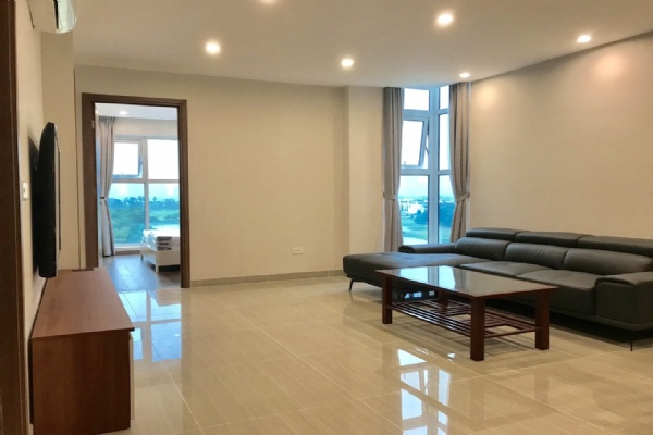 Well equipped and golf view 3 bedroom apartment for rent in L4  tower The Link  Ciputra