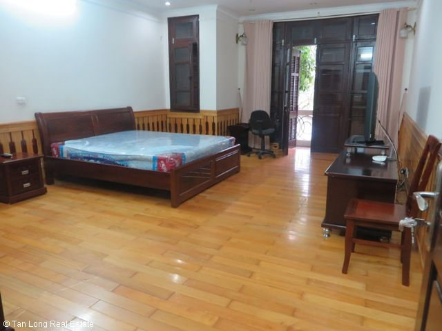 Well furnished 5 bedroom villa with garden for rent in D5 Ciputra, Tay Ho dist, Hanoi 7