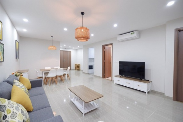 Well furnished and golf view 3 bedroom apartment for rent in L4 tower The Link Ciputra