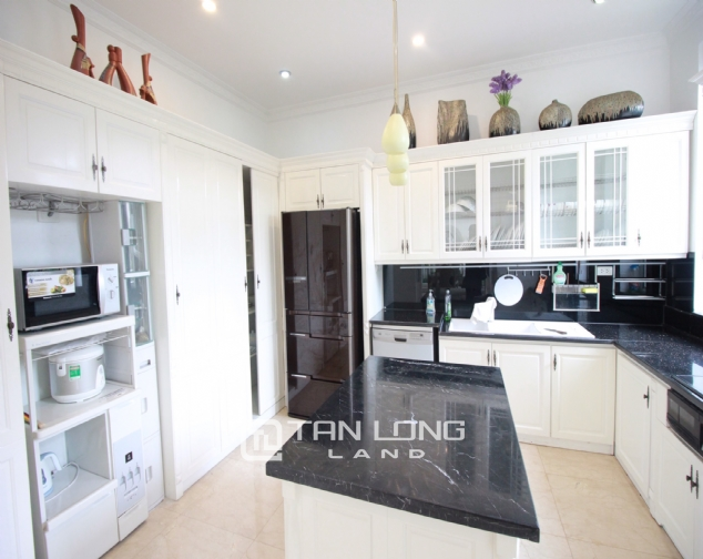Well renovated and spacious 5 bedroom villa for rent in T3 zone Ciputra 5