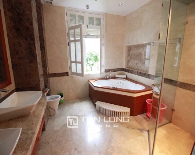 Well renovated and spacious 5 bedroom villa for rent in T3 zone Ciputra 1