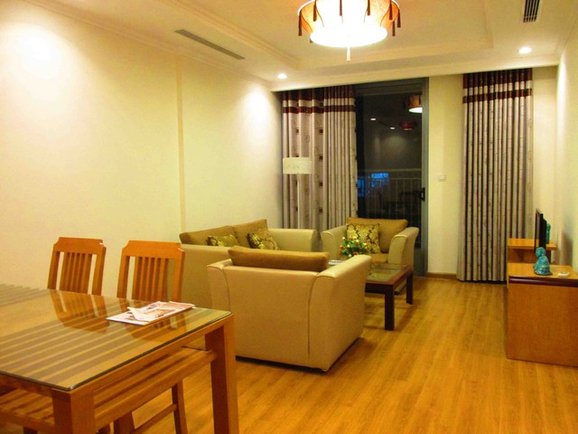 Well-appointed apartments for rent in Vinhomes Nguyen Chi Thanh