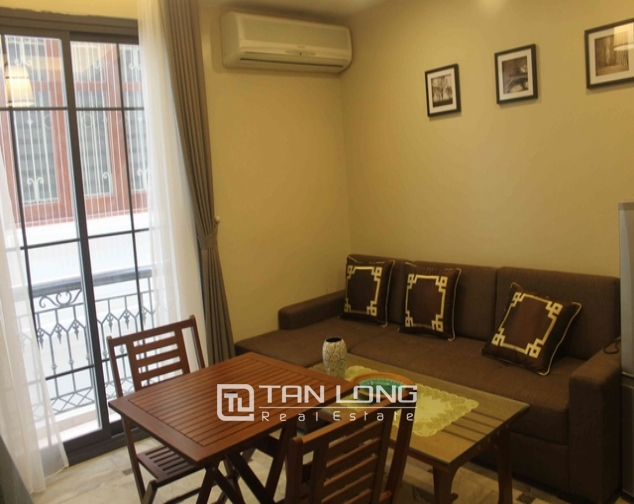 Well-proportioned serviced apartment for lease on Dao Tan str., Ba Dinh distr., Hanoi 1