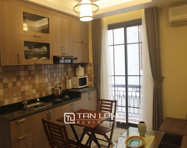 Well-proportioned serviced apartment for lease on Dao Tan str., Ba Dinh distr., Hanoi 3