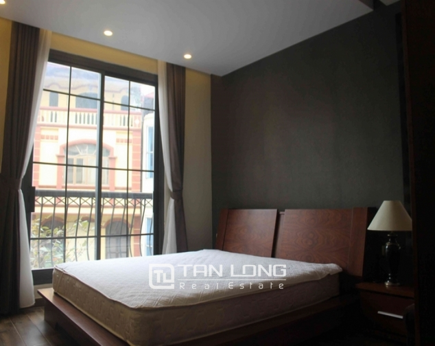 Well-proportioned serviced apartment for lease on Dao Tan str., Ba Dinh distr., Hanoi 4