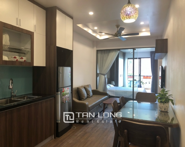Western apartment for rent in Dang Thai Mai street, Tay Ho district! 1
