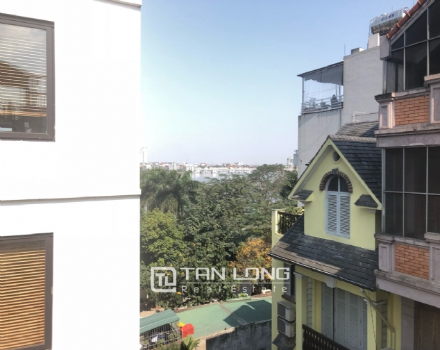 Western apartment for rent in Dang Thai Mai street, Tay Ho district! 10