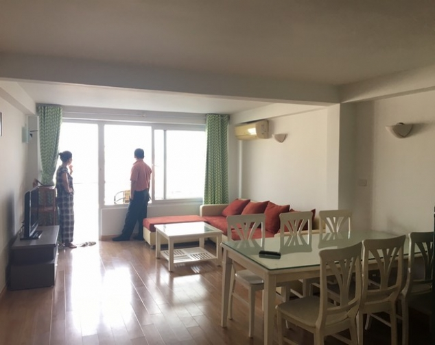 Westlake view 1 bedroom apartment to rent in Tu Hoa, Tay Ho, $650 1