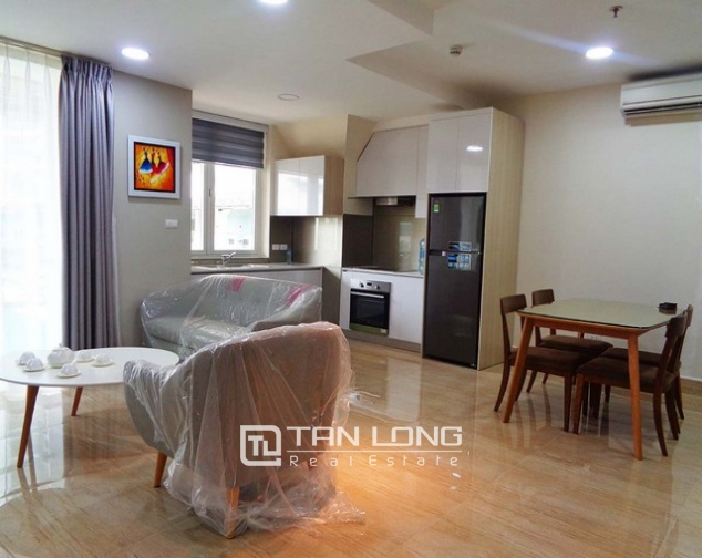 Wonderful apartment is sight to lake in Golden Westlake Hanoi for rent. 1
