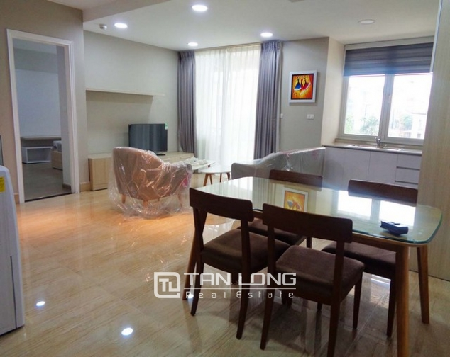 Wonderful apartment is sight to lake in Golden Westlake Hanoi for rent. 2