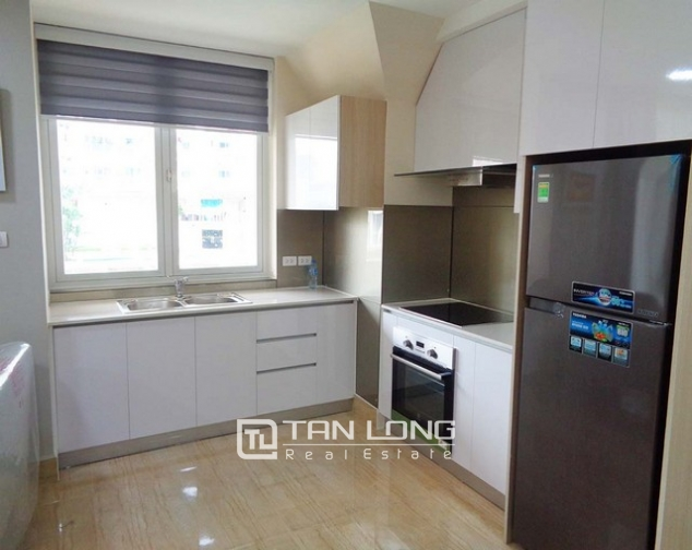 Wonderful apartment is sight to lake in Golden Westlake Hanoi for rent. 4