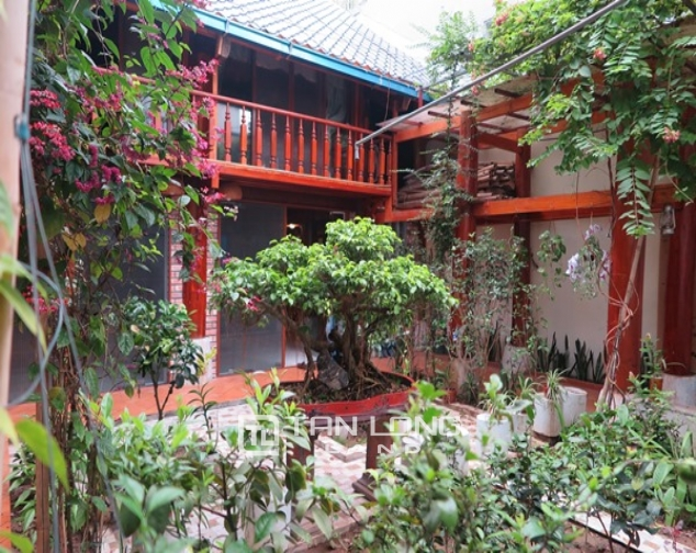 Wooden style house for rent in 173 Hoang Hoa Tham Str, Ba Dinh Distr 2
