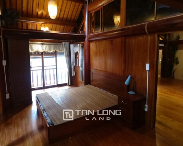Wooden style house for rent in 173 Hoang Hoa Tham Str, Ba Dinh Distr 10