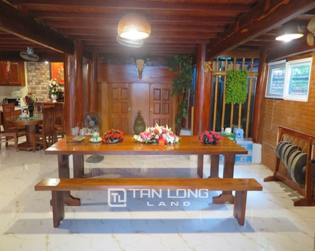 Wooden style house for rent in 173 Hoang Hoa Tham Str, Ba Dinh Distr 5