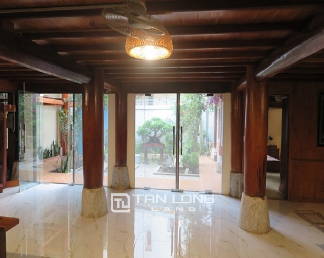 Wooden style house for rent in 173 Hoang Hoa Tham Str, Ba Dinh Distr 6