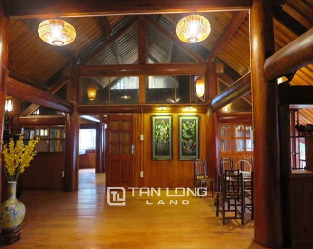 Wooden style house for rent in 173 Hoang Hoa Tham Str, Ba Dinh Distr 9