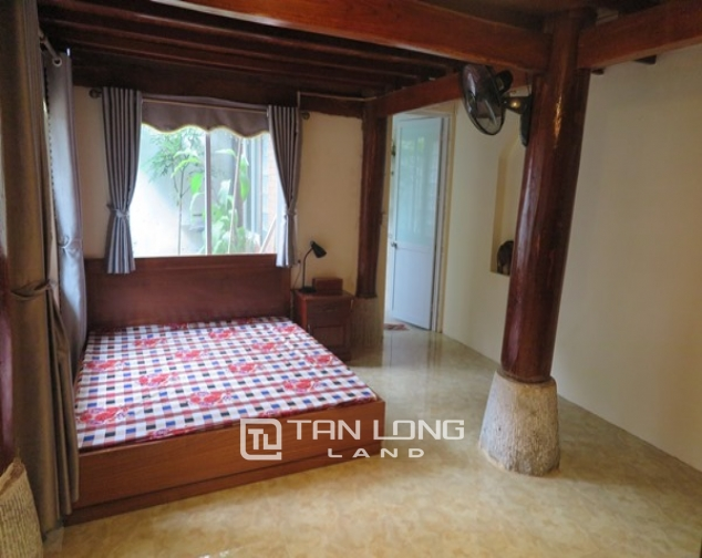 Wooden style house for rent in 173 Hoang Hoa Tham Str, Ba Dinh Distr 1