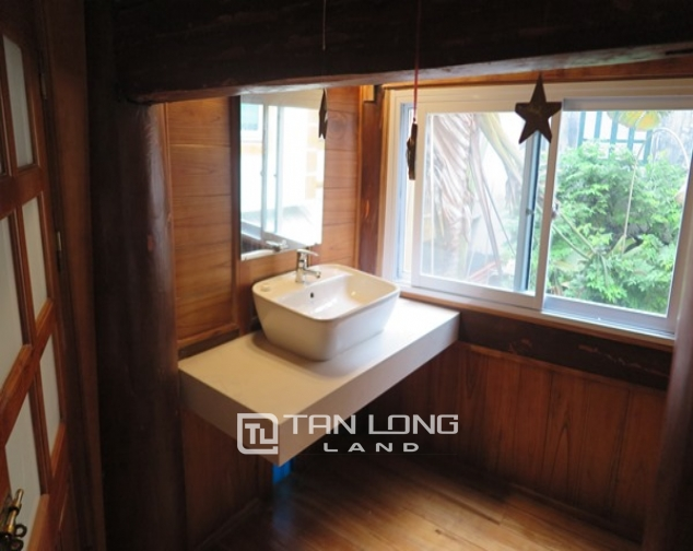 Wooden style house for rent in 173 Hoang Hoa Tham Str, Ba Dinh Distr 3