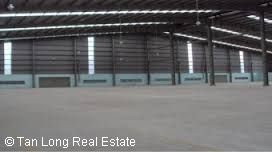 Workshop for rent with area is 1500sqm and outside spacy in Bac Giang 1