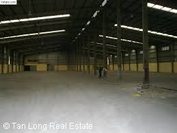 Workshop for rent with area is 1500sqm and outside spacy in Bac Giang 3