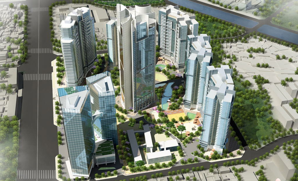 Overview Of Vinhomes Galaxy Nguyen Trai